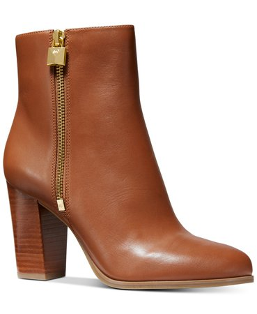 Michael Kors Frenchie Flex Dress Booties & Reviews - Boots - Shoes - Macy's