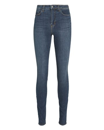 L'Agence Marguerite High-Rise Skinny Jeans   INTERMIX®