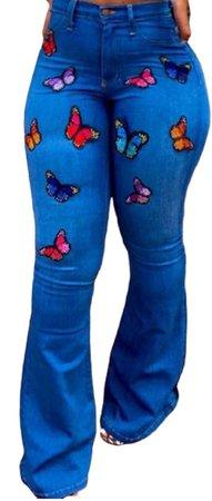 butterfly denim