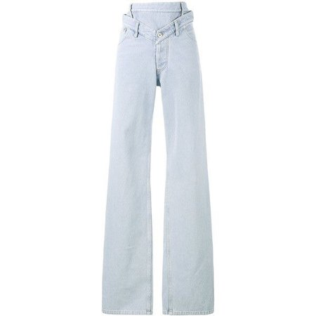 Y / Project high-waisted oversized jeans (32.105 RUB)