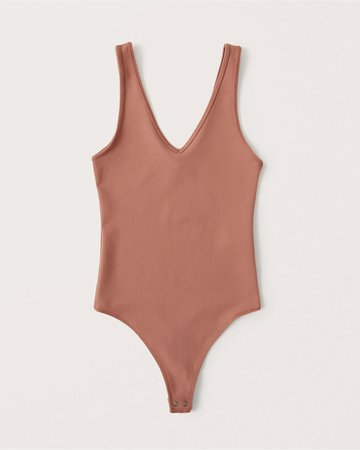 Women's Bare Seamless V-Neck Bodysuit | Women's New Arrivals | Abercrombie.com