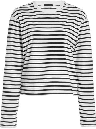 Classic Striped Cotton-Jersey T-Shirt