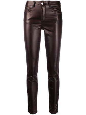 Liu Jo Mid Rise Skinny Trousers - Farfetch
