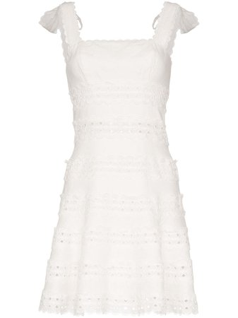 Zimmermann Kirra Broderie Anglaise Mini Dress - Farfetch