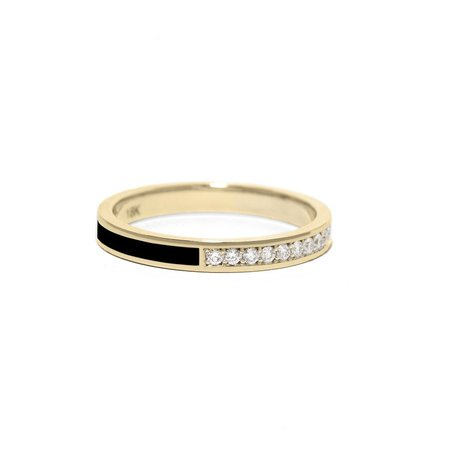 Nightfall Diamond Ring — AZLEE JEWELRY