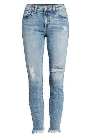STS Blue Emma Fray Hem Ankle Skinny Jeans (Durkee) | Nordstrom