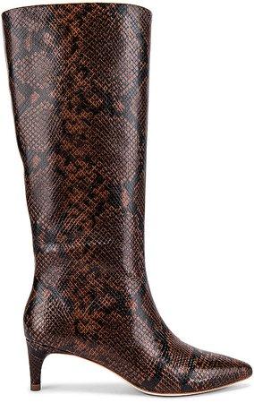 Gloria Tall Kitten Heel Boot