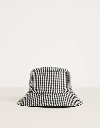 Reversible bucket hat - New - Bershka United States
