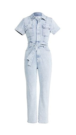 Good American Fit For Success Belted Jumpsuit | SHOPBOP