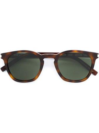 Saint Laurent Eyewear Tortoise Shell Sunglasses - Farfetch
