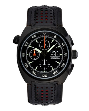 Tockr Watches 45mm Air Defender Chronograph Watch
