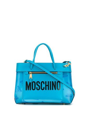 Moschino small logo tote bag