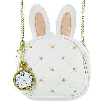 acomes: Alice shoulder bag crossbody bag Disney lounge fried food bag of the country of the white rabbit wonder | Rakuten Global Market