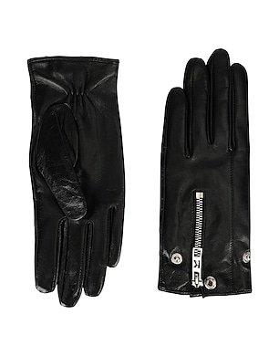 Karl Lagerfeld K/Karl Biker Jacket Glove