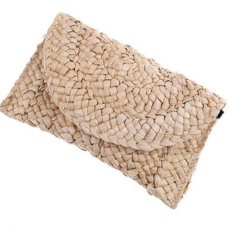Bohemian Straw Clutch Bags