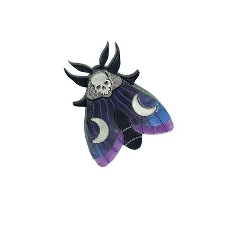 Mysterial moth pin   Etsy