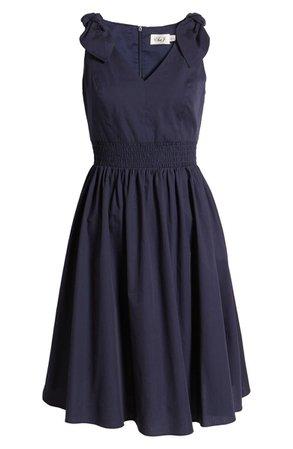 Smocked Cotton Dress   Nordstrom