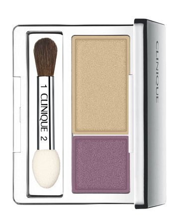 Clinique All About Shadow Duo Compact, Beach Plum