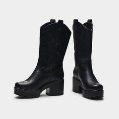 WINTU Long Chunky Western Boots – KOI footwear