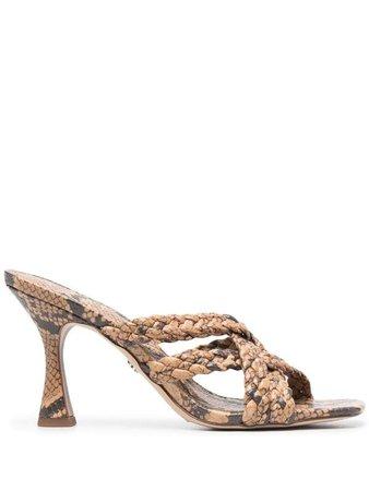 Sam Edelman snakeskin-effect sandals - FARFETCH