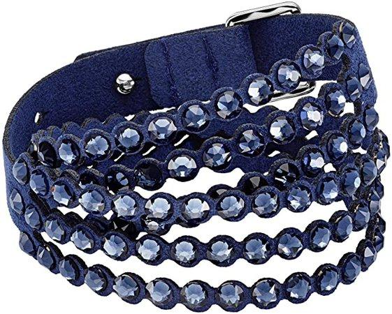 SWAROVSKI Women's Power Collection Bracelet, Blue: Jewelry
