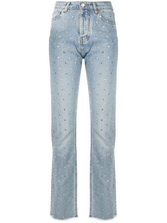 Alexandre Vauthier Jeans Slim Con Tiro Alto - Farfetch