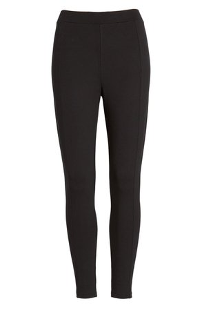 Nordstrom Everyday Basic High Waist Crop Ponte Leggings | Nordstrom