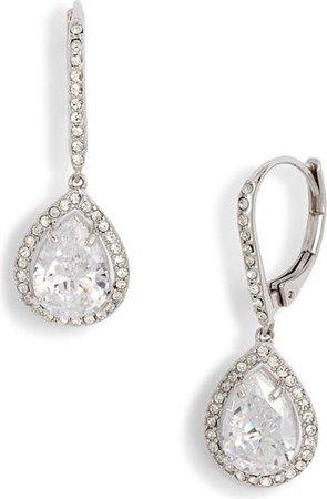 Nordstrom Cubic Zirconia Drop Earrings | Nordstrom