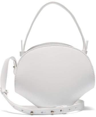 Nico Giani - Amelia Mini Leather Cross Body Bag - Womens - White