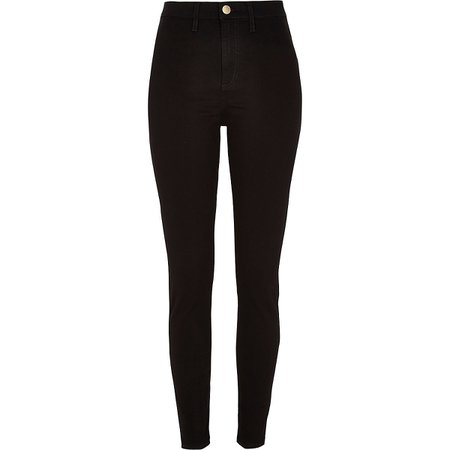Black Kaia high waist disco jeans - Skinny Jeans - Jeans - women