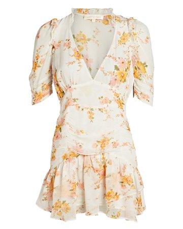 LoveShackFancy Arlo Floral Mini Dress | INTERMIX®