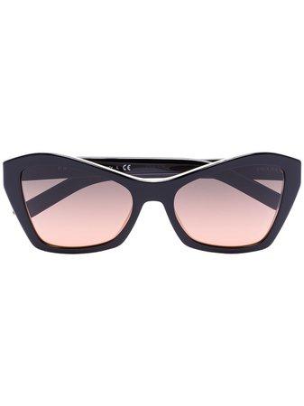 Prada Eyewear Cat Eye Tinted Sunglasses Aw20 | Farfetch.Com
