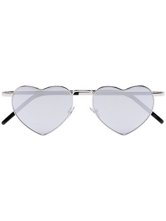 Saint Laurent Eyewear Heart-Shaped Sunglasses Ss20   Farfetch.Com