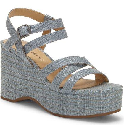 Lucky Brand Carlisha Platform Wedge Sandal (Women) | Nordstrom