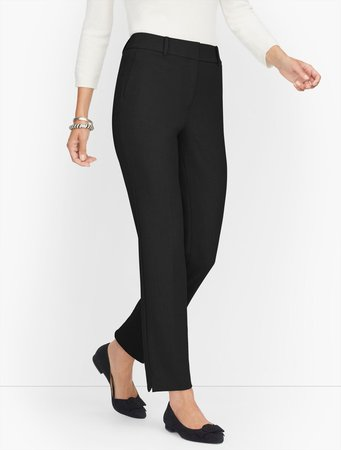 Luxe Stretch Slim Leg Trousers