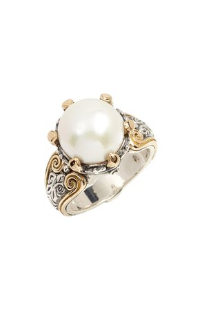 Konstantino Hermione Cultured Pearl Statement Ring   Nordstrom