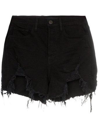 3x1 Blake Distressed Denim Shorts - Farfetch