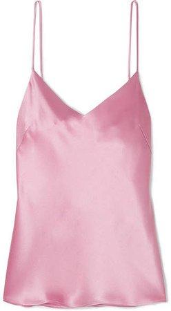 Satin Camisole - Pink