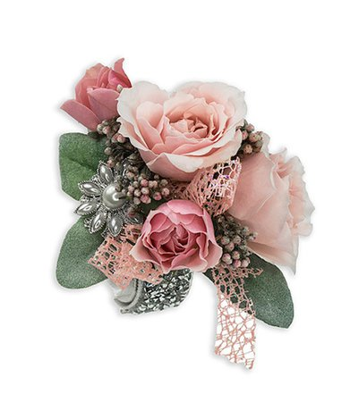 Wrist Corsage in Pink