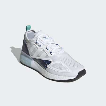 adidas ZX 2K Boost Shoes - White | adidas US