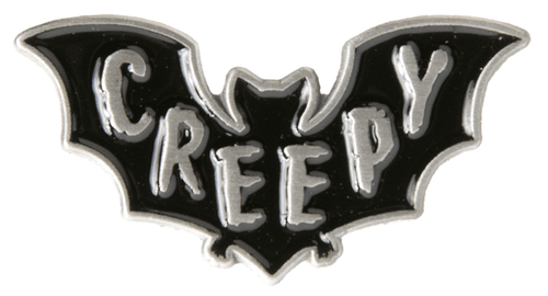 Creepy Pin from Sourpuss - October31st
