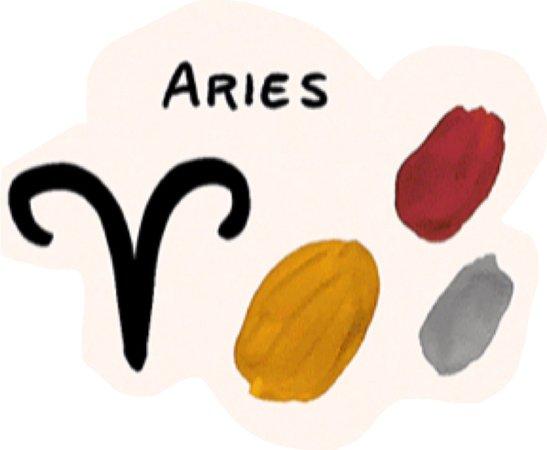 Aries color palette