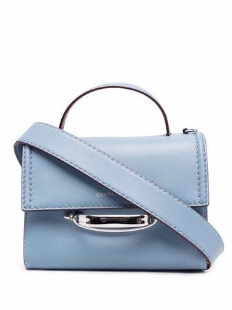 Alexander McQueen logo-print Crossbody Bag - Farfetch