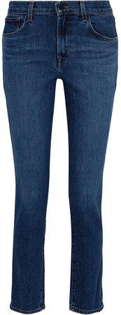 Ruby 30 High-rise Slim-leg Jeans
