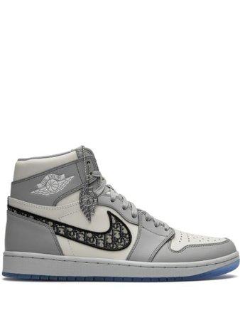Jordan x Dior Air Jordan 1 High Sneakers - Farfetch