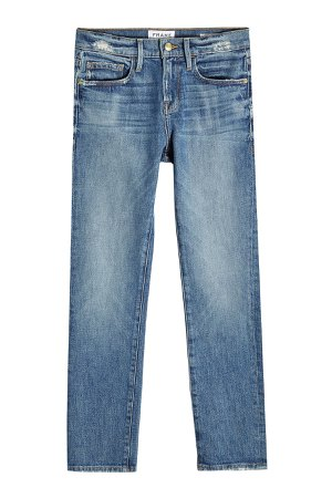 Cropped Straight Jeans Gr. 28