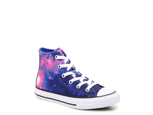 Converse Chuck Taylor All Star Miss Galaxy Toddler & Youth High-Top Sneaker Kids Shoes | DSW