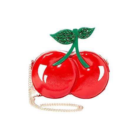 Cherry purse