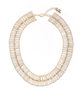 Rosantica Crystal Layered Necklace - Farfetch