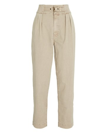 MOTHER The Buckled Up Huffy Flood Pants | INTERMIX®